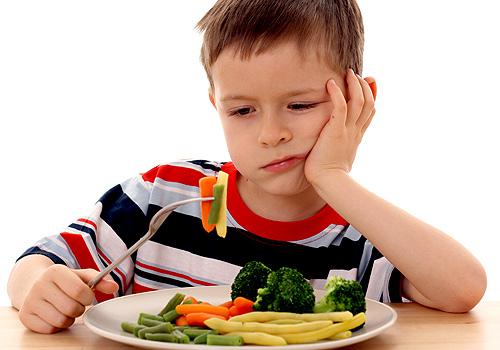 Qué hacer cuando los niños no comen
