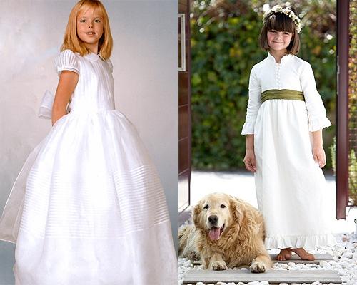 vestidos de primera comunion espana. Los trajes pret-á-porter de