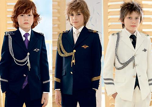 Organizar la primera comuni n marineros o de calle - Como poner el traje de comunion en casa ...