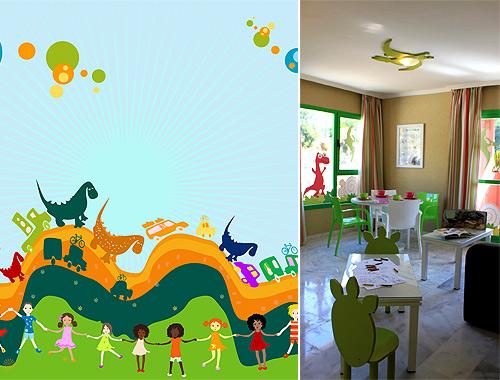 Aprender jugando la 39 fiebre 39 de los dinosaurios for Puertas decoradas con dinosaurios