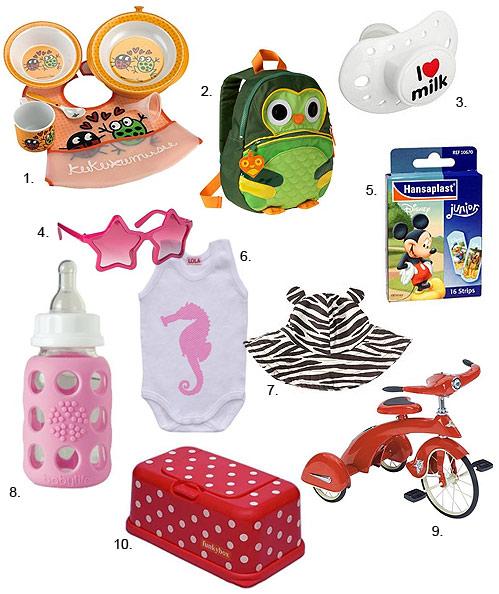 Baby shopping   Los accesorios más  cool  para tu bebé este verano 2b3041f2541