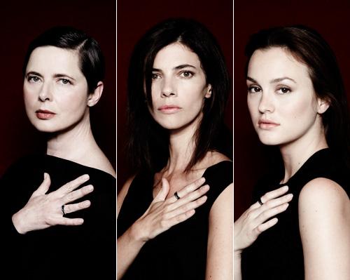 ¿Qué tienen en común Isabella Rossellini, Maribel Verdú y Leighton Meester?
