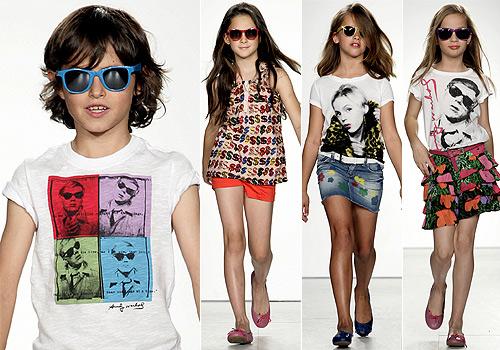 uandy warhol for kidsu la moda ms upopu se hace un hueco en el armario de los nios