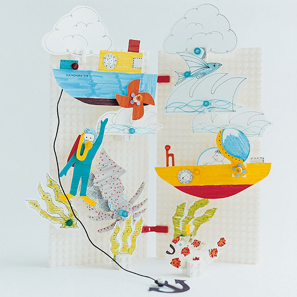 Ladrillos o papel as son las nuevas construcciones de - Construcciones de lego para ninos ...