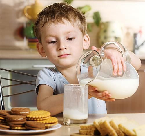Nueve nutrientes esenciales en la dieta de los niños