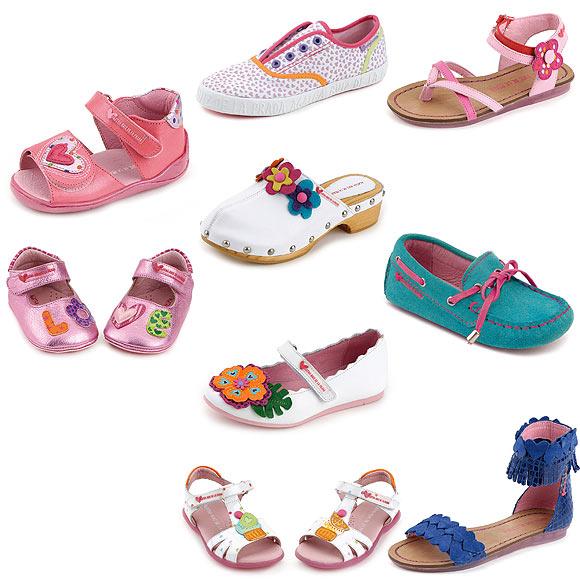 Calzado para peques qu zapatos se llevan esta - Ideas para decorar zapatos de nina ...