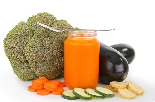 verduras permitidas para bebes de 6 meses