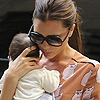 Victoria Beckham diseña un vestidito para Harper Seven