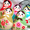 'Desde Rusia con amor': Las muñecas rusas inspiran la moda infantil este otoño