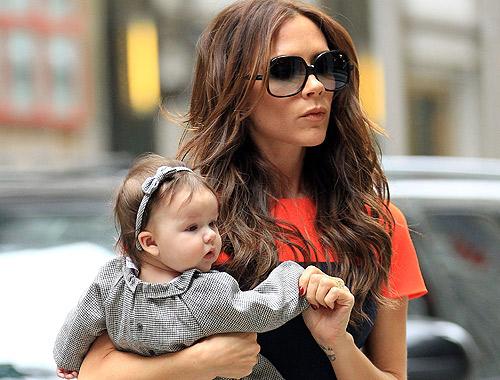 Las imágenes más tiernas de Harper Seven, en una tarde de compras junto a Victoria Beckham