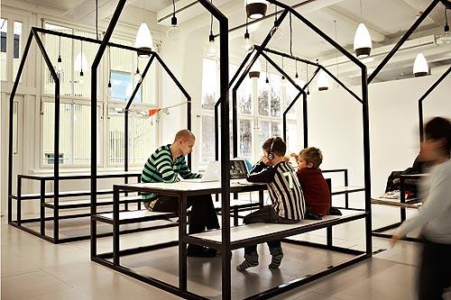 El colegio m s 39 cool 39 del mundo est en suecia for Interior design institute