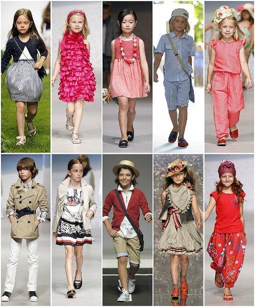 df4638f2e524 Moda para niños  ¿Qué tendencias se llevarán en la primavera-verano ...