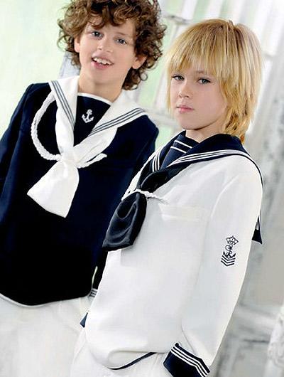 Los trajes de Primera Comunión para niños 2012