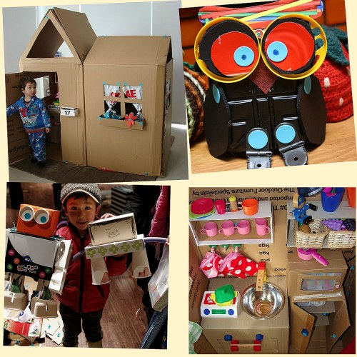 Ni os ecol gicos los nuevos juguetes los tienes ya en casa for La madera es reciclable