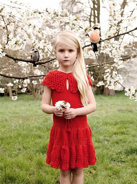 La hija de Natalia Vodianova sigue los pasos de su mamá en el mundo de la moda