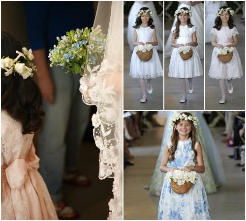Oscar de la Renta 2013: Dulces vestidos de princesa para las damitas de honor