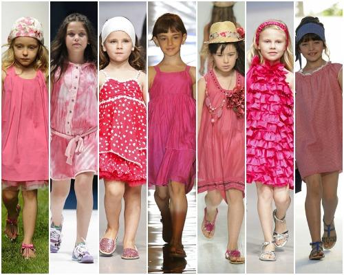 7e60688393 Tendencias 2012  Vestidos de colores para niñas