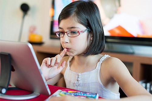 Hasta el 25% de los niños españoles sufre de problemas en la vista
