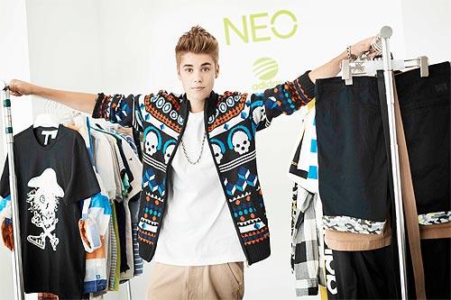 Justin Bieber se convierte en imagen de una popular firma de moda deportiva