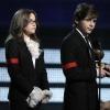 El 'look' más rockero de Paris y Prince Jackson
