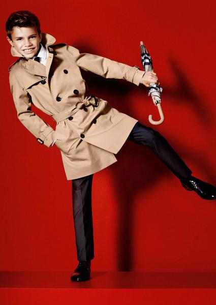Romeo Beckham debuta como modelo