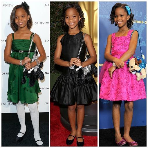 Quvenzhané Wallis, la nominada más joven de los Oscar, amante de los bolsos más divertidos