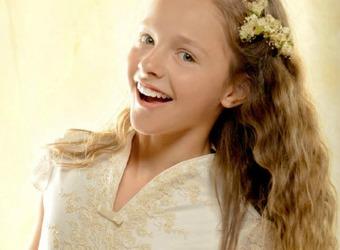 Princesas, corazones y marineros, entre las nuevas tendencias en trajes de Primera Comunión
