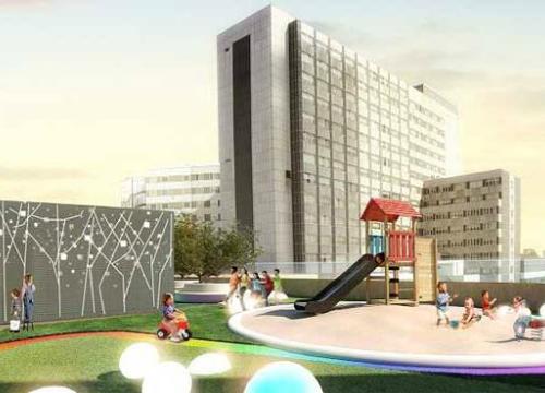 El Hospital de la Paz tendrá un jardín sólo para niños