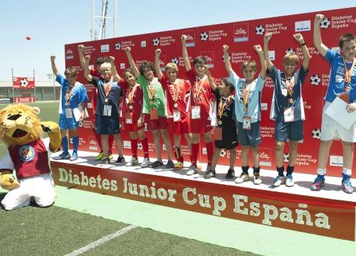 Un equipo de fútbol muy especial para combatir la diabetes