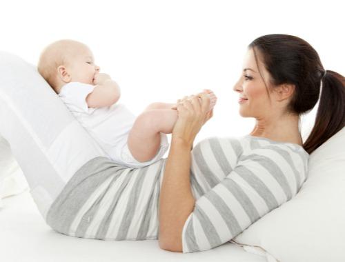 Mamás deportistas, bebés más sanos