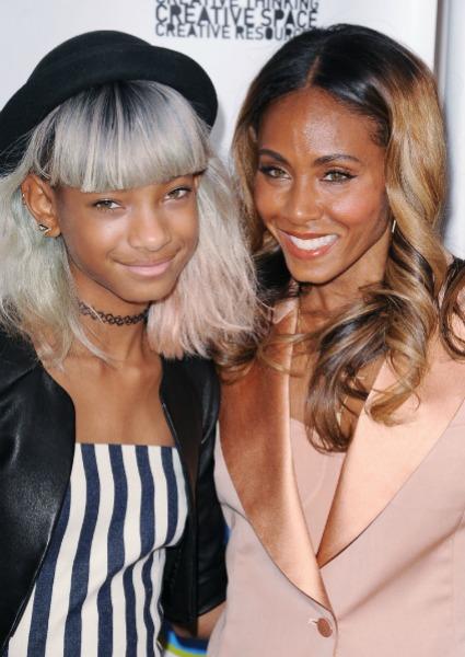 Paris Jackson y Willow Smith, dos pequeñas muy 'rockeras'