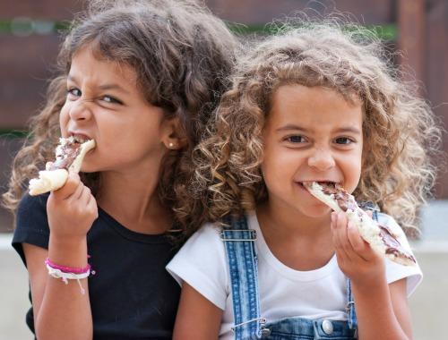 el pan en la dieta de los niños