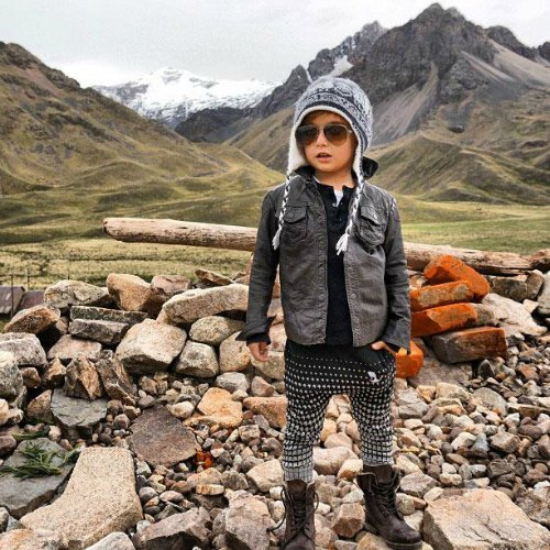 Alonso Mateo Instagram Style: Un 'fashion Icon' De Cinco Años