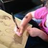 Una mamá artista crea ilustraciones en colaboración con su hija de cuatro años