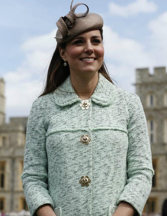 La Duquesa de Cambridge es la mamá del año
