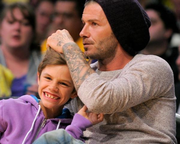 David Beckham se atreve con una colección infantil