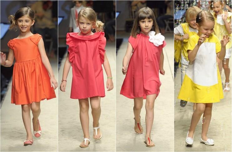 4a816e261 El trío 'naranja-amarillo-rosa' se cuela en la nueva colección para niños  de Il Gufo, que viste a las princesas de la casa con vestidos de línea  suelta, ...