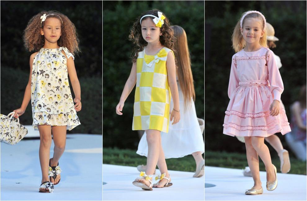 Los vestidos que llevarán las niñas esta primavera 99d375bd818b