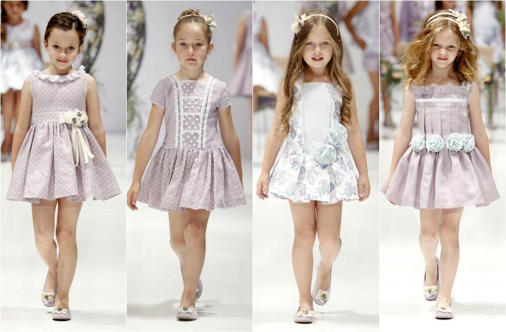 6a1b1c131 Los vestidos que llevarán las niñas esta primavera