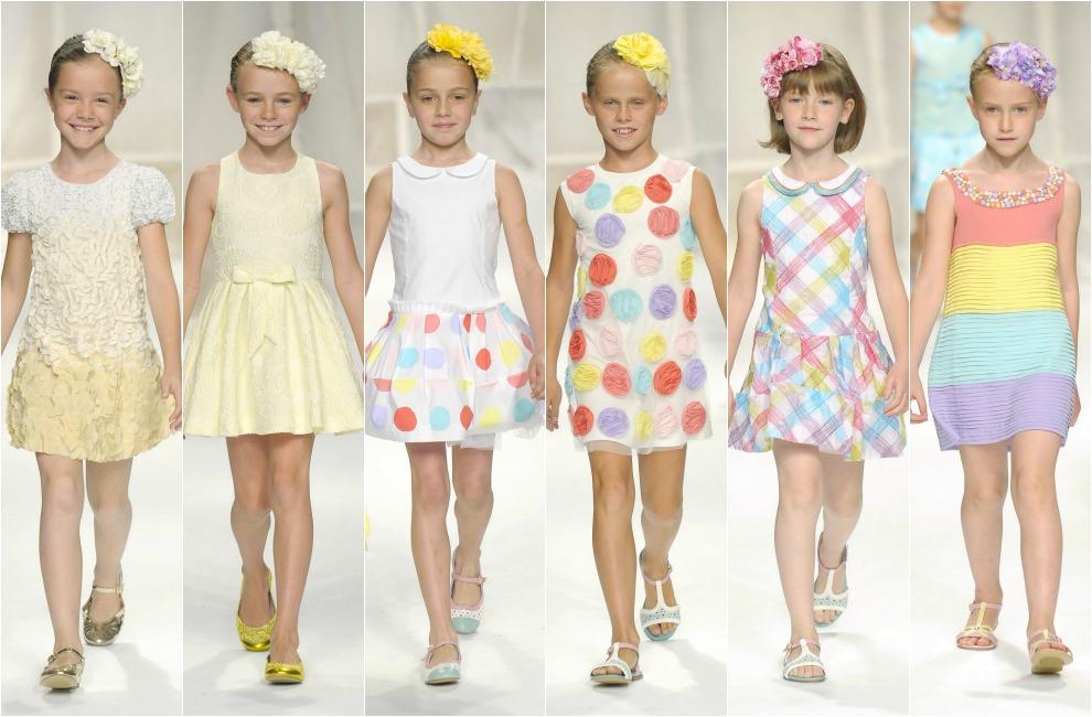 6a6a03c89 Los vestidos que llevarán las niñas esta primavera
