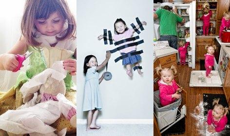 Cinco papás y mamás muy creativos
