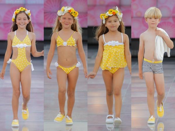 La pasarela moda c lida se estrena con un d a dedicado for Ropa de bano infantil