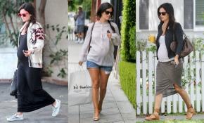Tres trucos de moda premamá 'by' Rachel Bilson