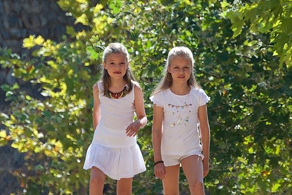 El armario veraniego de la princesa Leonor y la infanta Sofía