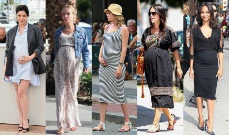 Once vestidos para sobrevivir a un verano premamá