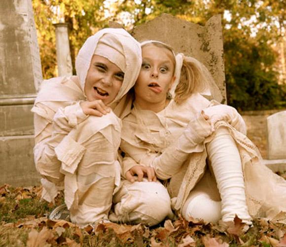 Los disfraces infantiles m s terror ficos para este for Fotos originales de bebes para hacer en casa