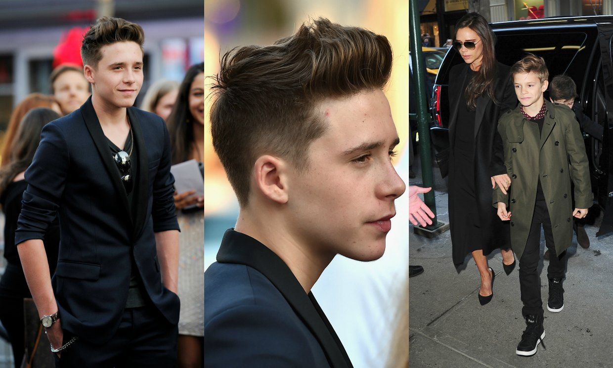 El duelo 'fashion' de Brooklyn y Romeo Beckham
