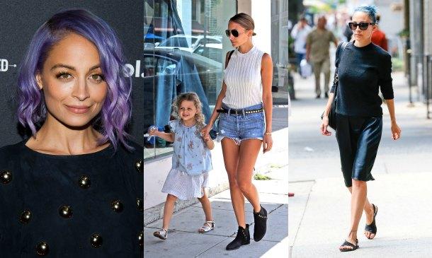 Nicole Richie es una mamá con estilo