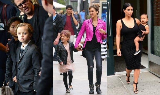 'Mini-celebrities': Papás y mamás que se visten como sus hijos