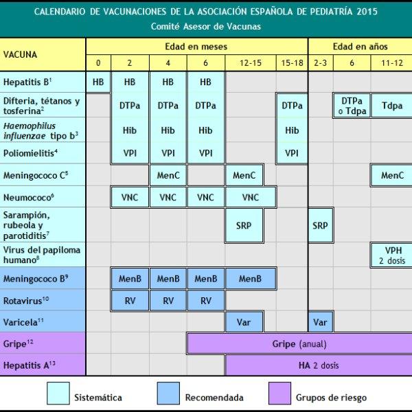 As es el calendario de vacunas propuesto por los pediatras espa oles foto - Nacionalidad de puerto rico en ingles ...
